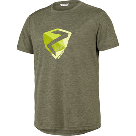 Ziener Nolaf T-Shirt Men, dusty olive/melange